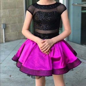Dance costume dress up girls approx size 8-10